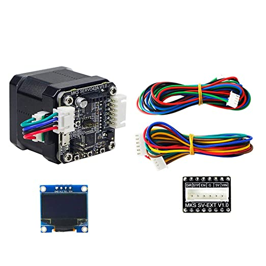 ueetek Module Driver Step Motor MakerBot 4/Layers Flip Cover Case with Cooling for 3d printer