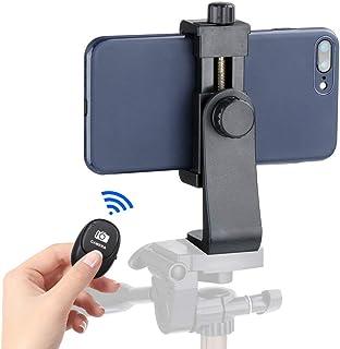 Ulanzi Cell Phone Tripod Adapter - Universal Phone Tripod Mount Attachment for Any Size Smartphone - Includes Bonus Wirele...