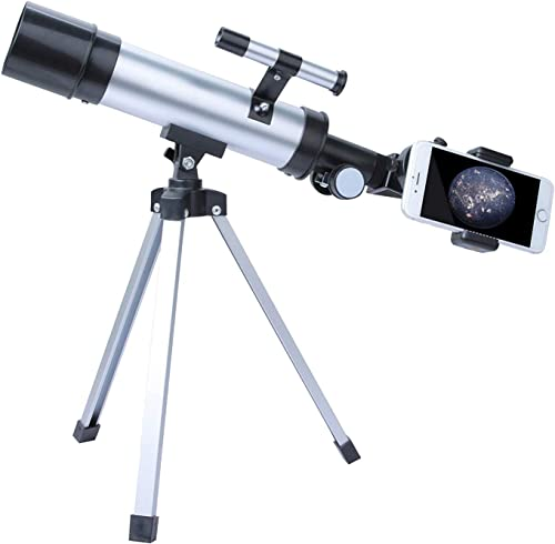 2021 OPTIMISTIC Astronomical Telescope new arrival sale with Adjustable Tripod,Portable Monoculars for Adults Beginners and Children, 360mm(f/7) Focal Length 50mm Aperture outlet sale