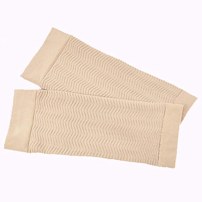 累計助手バター二の腕 シェイパーサポー UV対策 ふくらはぎ むくみ 対策 (肌色)