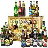 Bieradventskalender Welt 2019 - Bierkalender Alkohol - Biergeschenke für Männer