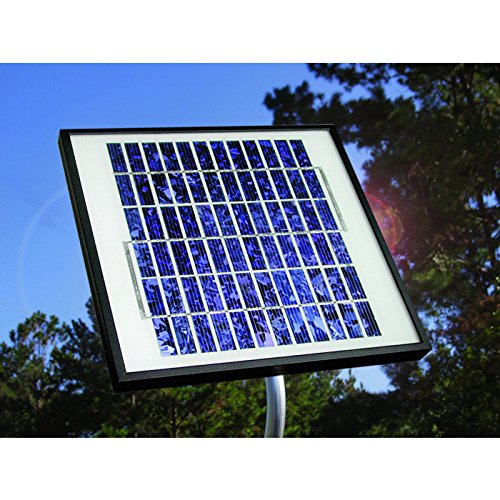 Mighty Mule / Linear / GTO 10 Watt Solar Gate Battery Charger -Works with All Mighty Mule Gate Openers, Compatible to FM123