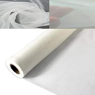 3 Yards 1.27 Meters Silk Screen Printing Fabric Mesh Screen Printing Mesh Wide High Tension Mesh Making Ink Supplies, Poly...