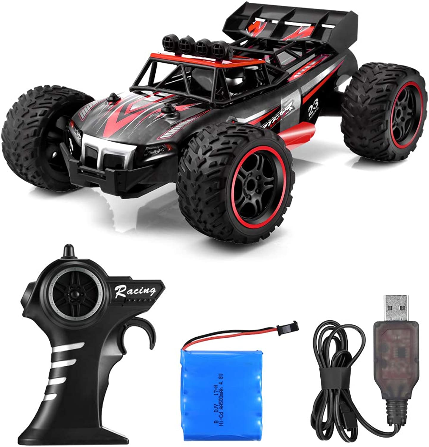 YED 1703 2.4GHz Remote Control High-Speed Racing Car Toy for Boys and Girls