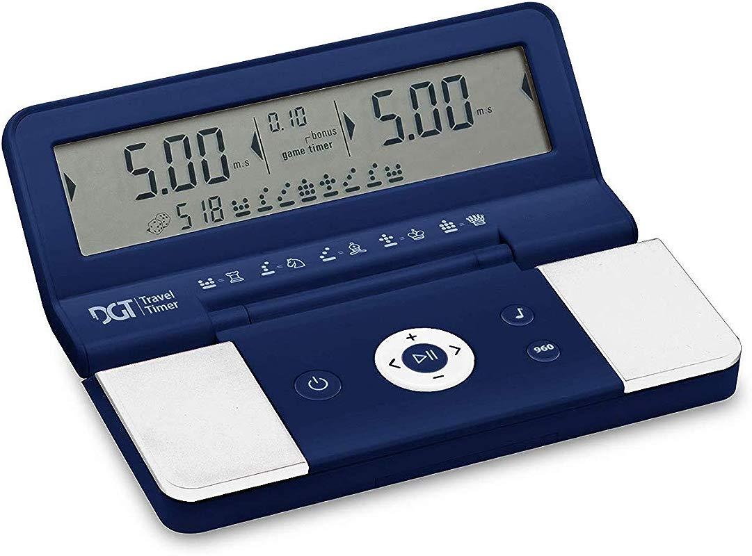 DGT Travel Timer Clock Foldable Pocket Timer DGT 960 With Bonus Time And Fscher System