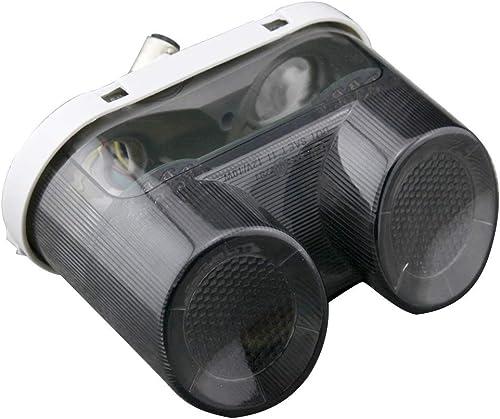 Mallofusa Motorcycle Integrated Taillight LED Brake Tail Light Compatible for Yamaha YZF R1 2000-2001 FZ1 2001 2002 2003 2004 2005 Smoke Lens