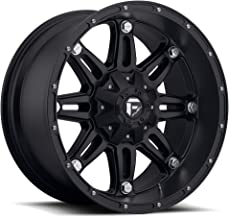 17x9 Fuel Offroad Wheels Hostage 8x165.1-12 Offset 125.2 Hub - Matte Black [Authorized Dealer] Fuel-D53117908245
