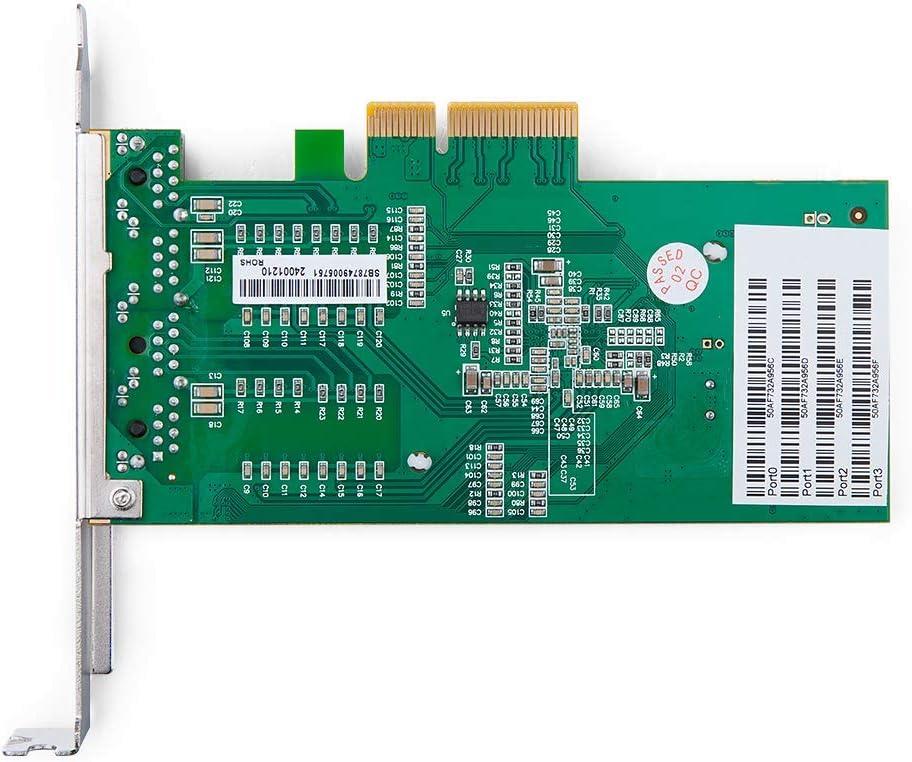 Single RJ45 Port EXPI9301CT Chip ipolex 1Gb PCIE Network Card Intel 82574L VMware ESX NIC Gigabit Network Adapter Ethernet PCI Express 2.0 X1 Lane for Windows Server Linux