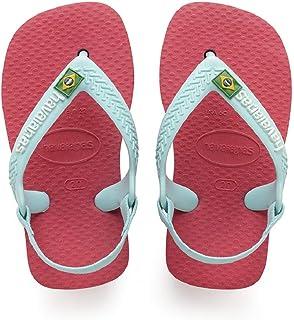 Havaianas, Sandálias New Baby Brasil Logo, Flamingo