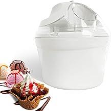 Leogreen - Sorbetière électrique 1.4 L Machine à Glace Sorbetière pour Crème Glacée, Sorbet et Yaourt Glacé, Machine à crè...