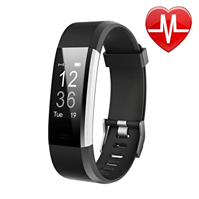 Letsfit Fitness Tracker HR, Activity Tracker Wa...