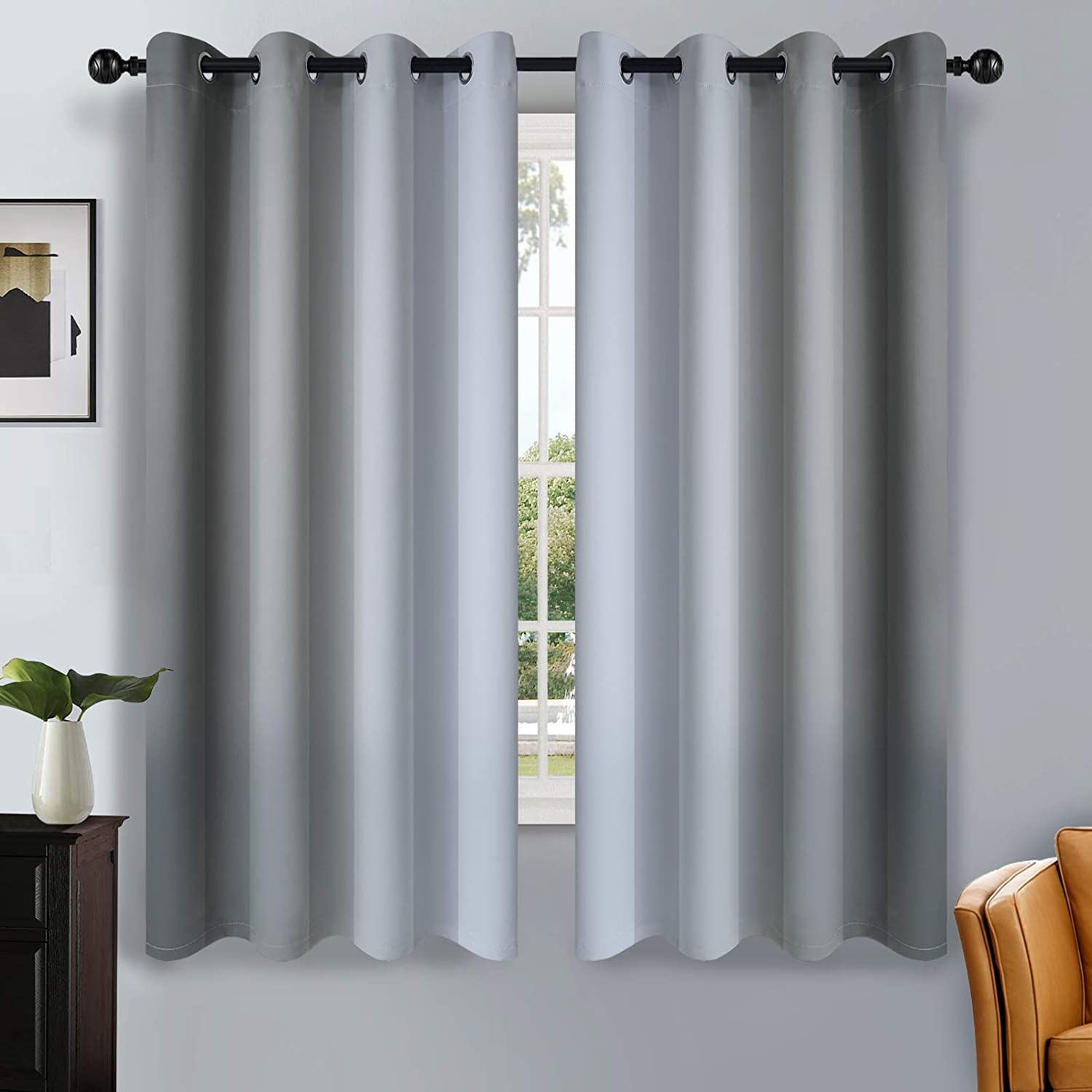 SimpleHome Ombre Room Very popular Darkening Living Light Curtains for Translated
