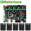 BZ 3D Controller Board MKS SGen L V1.0 32-bit Motherboard Compatible Uart/SPI Open Source Marlin2.0/Smoothieware with MKS TMC2208/2209 Steep Motor Driver for 3D Printer Parts (Board+TMC2209 V1.05)