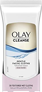 Olay Wet Cleansing Cloths Normal by Olay for Women - 30 Pc Cloths, 30 Count