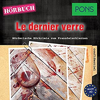 Le dernier verre (PONS Hörkrimi Französisch) Titelbild