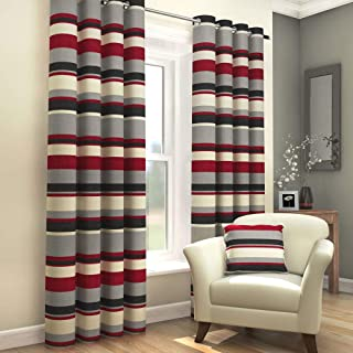Best red and grey eyelet curtains Reviews