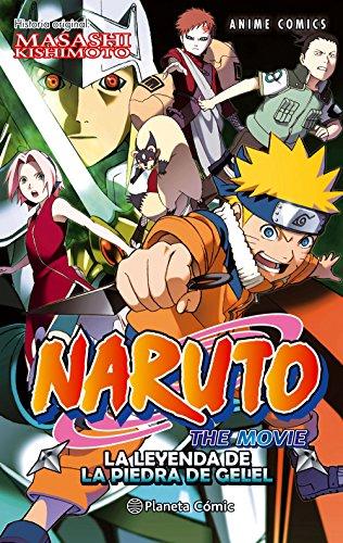 Naruto Anime Comic nº 03 La leyenda de la piedra de Gelel (Manga Shonen)