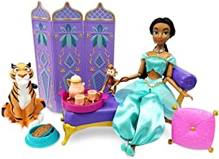 Disney Jasmine Classic Doll Palace Lounge Play Set – Aladdin