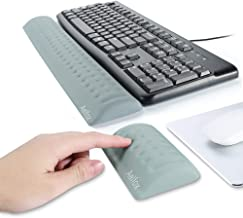 Aelfox Memory Foam Keyboard Wrist Rest&Mouse Pad Wrist Support, Ergonomic Design for..