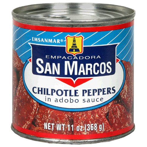 Empacadora San Marcos Chipotle Peppers Sauce 11-Ounce Max List price 63% OFF in Adobo
