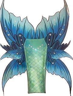 Cola De Sirena para Nadar Mermaid Bikini Traje De Baño De Cola De Sirena para Niños/Adultos/Hombres/Mujeres/Piscinas/Fotos...