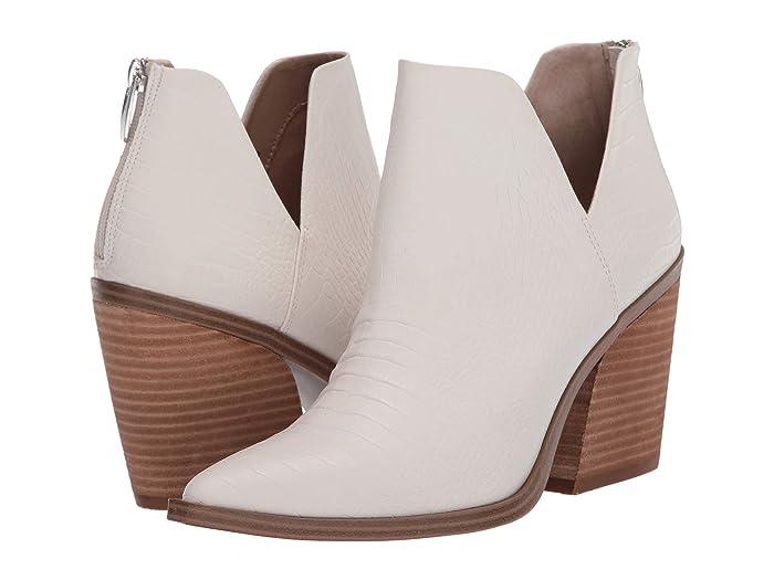 Steve Madden  Alyse Bootie (Light Bone Croco) Womens Shoes