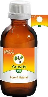 SSCP Botanicals Amyris Pure & Natural Essential Oil (Amyris balsamifera) (1000 ml (33.80 Oz) Aluminium Bottle)