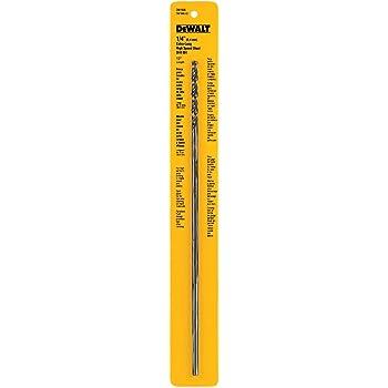 DEWALT DW1610 3//8-Inch by 12-Inch Extra Long Black Oxide Drill Bit New Sealed