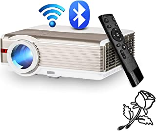 LED Wireless Bluetooth Home Theatre Projector 5000 Lumens LCD Smart HD Multimedia Android Wireless Wifi Bluetooth Projecto...