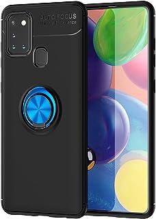 حافظة FanTing لهاتف Samsung Galaxy A21s ، 360 درجة قابل للتعديل ، متوافق مع حامل سيارة مغناطيسي ، غطاء مقاوم للزلاج لسامسو...