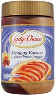 Lady's Choice Peanut Butter (628MART) (Grape Stripes 530g, 1 Can)