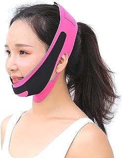 wsbdking Gezichtsmassager Afslankende riem Lift Rimpel Verwijder Hals Check Thin V Line Face Lift Tape Stickers Chin Up Sl...