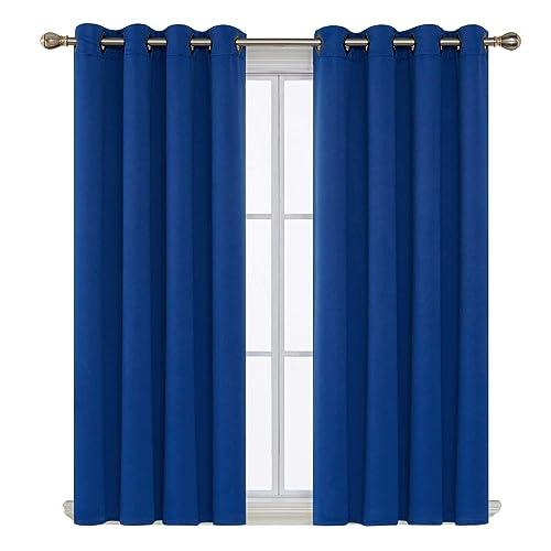 Royal Blue Living Room Decor: Amazon.com