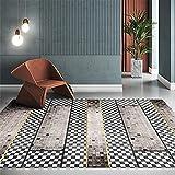 dormitorios Matrimonio Dormitorio Gris Carpet Crystal Tercer Velvet Lea Alfombra habitación Matrimonio alfombras recibidor 140x200cm 4ft 7.1' X6ft 6.7'