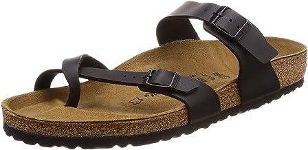 BIRKENSTOCK Women's Mayari Dual Strap Slide Sandals White Size