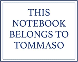 This Notebook Belongs to Tommaso