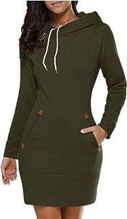 Best hoodie sweatshirt dress Reviews