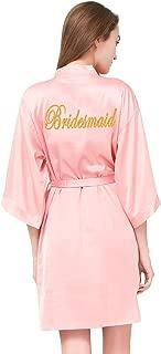 bridesmaid satin robes