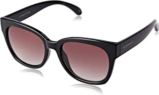Seafolly Women's Summerland SEA1612612 Wayfarer Sunglasses,Black,55 mm