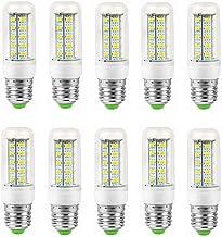 SGJFZD 12V LED E27 Corn Bulb 6W Middle Edison Screw Candle Bulb, 40W Incandescent Bulb Equivalent, Non dimmable Candelabra...