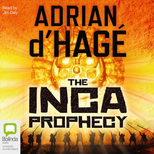 Inca Prophecy audiobook cover art