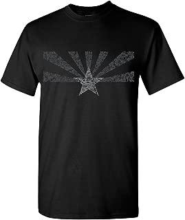 Arizona State Flag Distressed T-Shirt