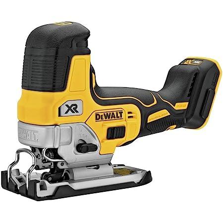 DEWALT 20V MAX Jig Saw, Barrel Grip, Tool Only (DCS335B) , Black