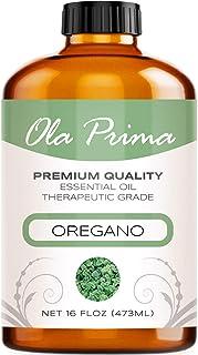 Ola Prima 16oz - Premium Quality Oregano Essential Oil (16 Ounce Bottle) Therapeutic Grade Oregano Oil