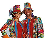 Mottoland Kostüm Zubehör Crazy Folk Hut Karneval Fasching Party Herren