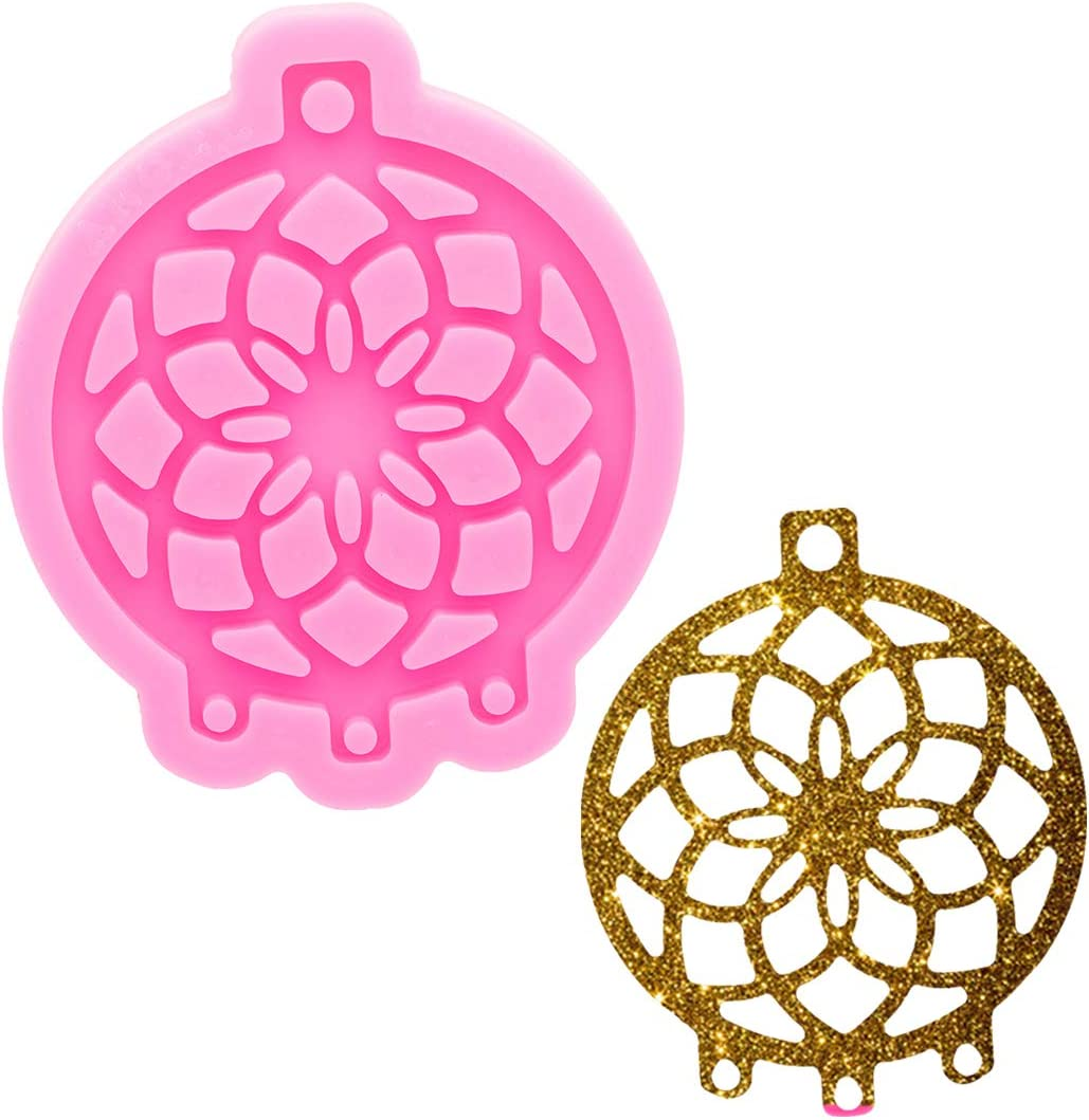 Super Glossy Rare Large-scale sale Resin Dream Catcher Mold DIY Cra for Silicone Mould