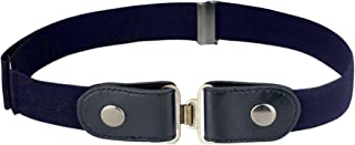 No Buckle Elastic Belt for Jeans Pants, Invisible Belt without Buckle No Bulge