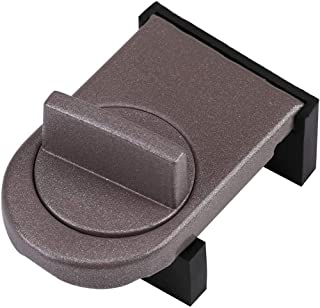 Window Lock, Adjustable Door Window Stopper Wedge with Rubber Covered for Sliding Window