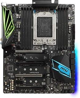 MSI X399 SLI Plus - Placa Base Pro Series (DDR4 Boost, Audio Boost 4, Mystic Light y Mystic Light Sync, M.2 Shield, PCI-E Steel Armor)