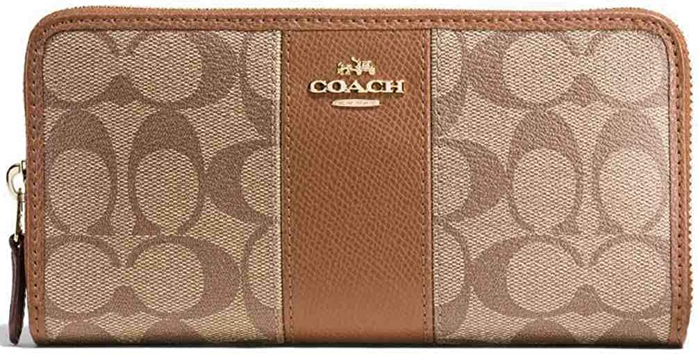 Coach Womens Accordion Wallet